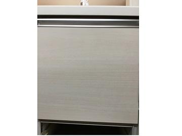 新設,あとから,パナソニック製,パナソニック,山口,中国地方,ファーストプラス,NP-45MS8W,浅型,食器洗い乾燥機,取付け,標準,扉面材再利用