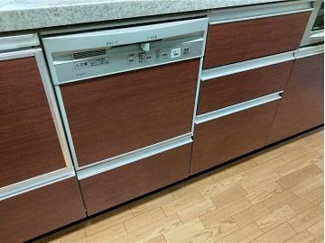 食器洗い乾燥機,食器洗い機,食洗機,買い換え,交換,取り替え,リフォーム,ビルトイン,食洗機交換工事,取り付け,シルバー,NP-45MS8S