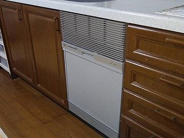 新設,あとから,リンナイ製,リンナイ,千葉県,関東,タカラスタンダード,RSWA-C402C-SV,浅型,食器洗い乾燥機,取付け,コンパクト,