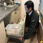 ビルトイン食洗機 現地調査