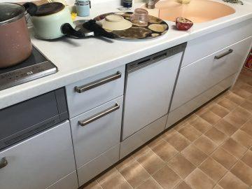 食洗機,食器洗い機,スライドオープン食洗機,QSS45VD7SD,入れ替え,スライドオープン食洗機,取り替え,深型,パナソニック,