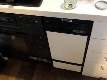 ナショナル,NP-3000BP,撤去,収納,取り外し,フロントオープン食洗機,食器洗い乾燥機,食器洗い機