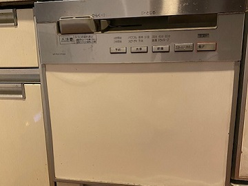 食器洗い乾燥機,食器洗い機,食洗機,買い換え,交換,取り替え,リフォーム,ビルトイン,食洗機交換工事,取り付け,シルバー,パナソニック,NP-45RS7S