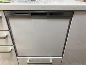NP-45MS8S,Panasonic,スライドオープン食洗機,浅型,ミドルタイプ,FB4511TMS,ハーマン
