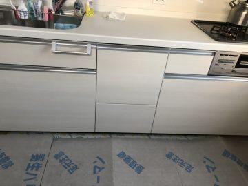NP-45MS8W,ファーストプラス,新設,パナソニック,スライドオープン食洗機,後付け,システムキッチン,ミドルタイプ,浅型
