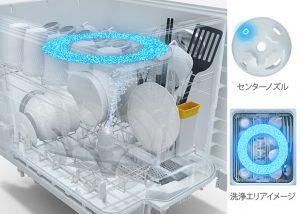3Dプラネットアームノズル ノーマル洗浄