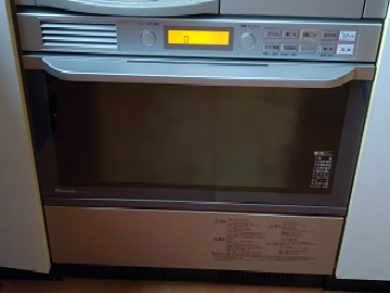 システムキッチン,電気オーブン,買い換え,交換,工事,取替え,取り替え,パナソニック,NE-DB701P