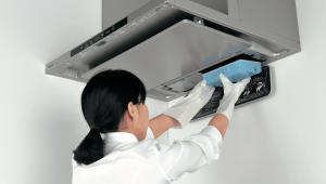 パナソニック レンジフード 自動洗浄 排水処理