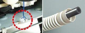 パナソニック食洗機 2重給水圧力ホース