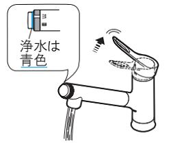 LIXILオールインワン浄水栓 カートリッジ交換方法⑦AJ