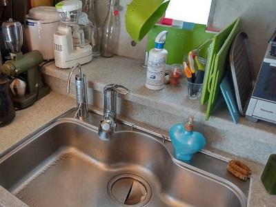 浄水器,浄水器専用水栓,新設,ビルトイン浄水器,単独,パナソニック,QSTK-HB41-SSK,還元水素生成器,東京都練馬区,