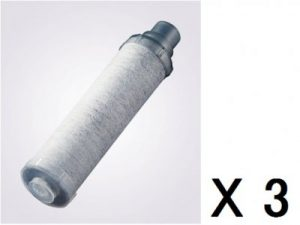 INAX製(LIXIL)JF-K10-C (JF-K10-Aの3本セット) 交換用浄水カートリッジ(AJタイプ専用)エコノミータイプ 3本 ▼カートリッジ▼