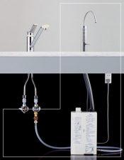 パナソニック還元水素水生成器 設置