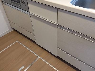 食器洗い乾燥機,食器洗い機,食洗機,収納,交換,取り替え,リフォーム,ビルトイン,食洗機撤去,2段引き出し,東京都,豊島区,LIXIL