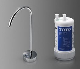 TOTO浄水器機能付水栓 ビルトイン形