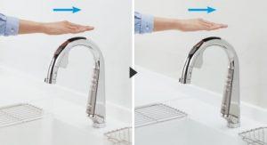 パナソニック浄水器 スリムセンサー水栓 通常モード