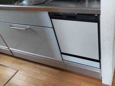 ZWPP45R14ADK-E,クリナップ,AD-NPS45T-LG,CWPM-45,スライドオープン食洗機,食洗機取替,食洗機パネル