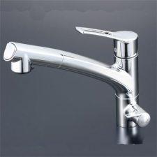 KVK製(KVK)KM5061N 浄水器専用シングルレバー式シャワー付混合栓(水栓本体のみ)