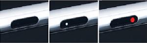 KVK製(KVK)KM6131SCEC 浄水器付シングルレバー式シャワー付混合栓 光るLEDライト電池タイプ