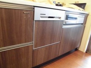 LESPW-S450A,千石製,パナソニック,rinnnai,RKW-V45A-SV,スライドオープン食洗機,食洗機取替