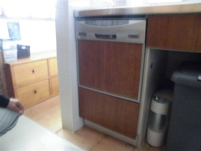 ZWPP45R14LDS-E,クリナップ,CWPR45BSスライドオープン食洗機,食洗機取替,クリナップキッチン