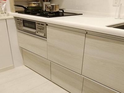 RSW-C402C-SV,リンナイ,食器洗い乾燥機,食洗機設置部材,N-KH450S,食洗機新設工事,スライドオープン食洗機