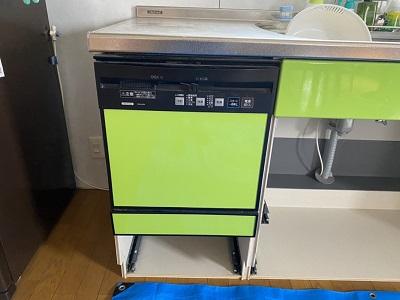 CWPM-45A,クリナップ,スライドオープン食洗機,ZWPP45R14ADK-E,食洗機取替