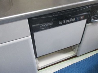 NP-45RS9S,パナソニック,松下電器,TDWF-45,タカラスタンダード,スライドオープン食洗機,食洗機取替