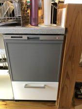 上北郡おいらせ町 サンウェーブキッチン食洗機取替工事