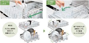 リンナイ食洗機 おすすめ 大容量カゴ
