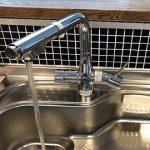 浄水器一体型水栓へ取替え工事
