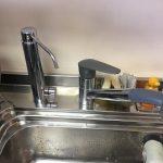 カウンターオン浄水器 カートリッジそのまま本体交換工事 KVK製の浄水器専用水栓 QSK1600PC