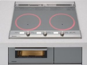 パナソニック製(Panasonic)KZ-XJ26DST シルバー 2口IH・鉄・ステンレス対応